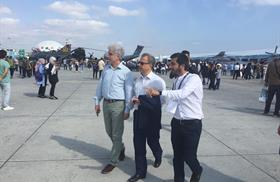 Our Rector Meets our Students Competing in the UAV Contest as part of Teknofest Istanbul